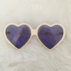 Gucci Heart Sunglasses